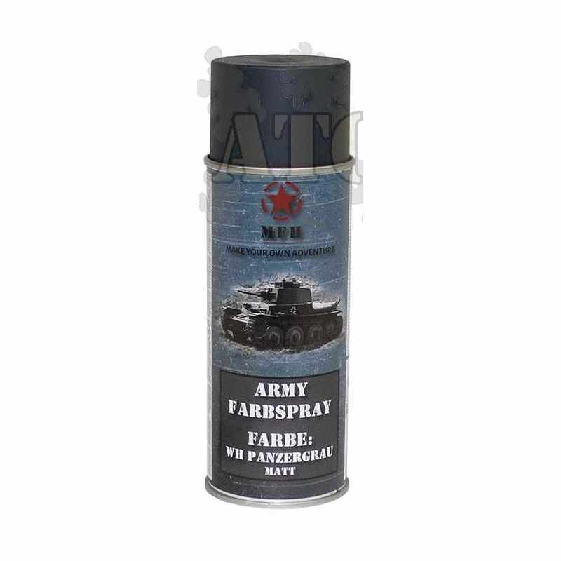 a rosol de peinture militaire gris mat 400ml all the camo. Black Bedroom Furniture Sets. Home Design Ideas